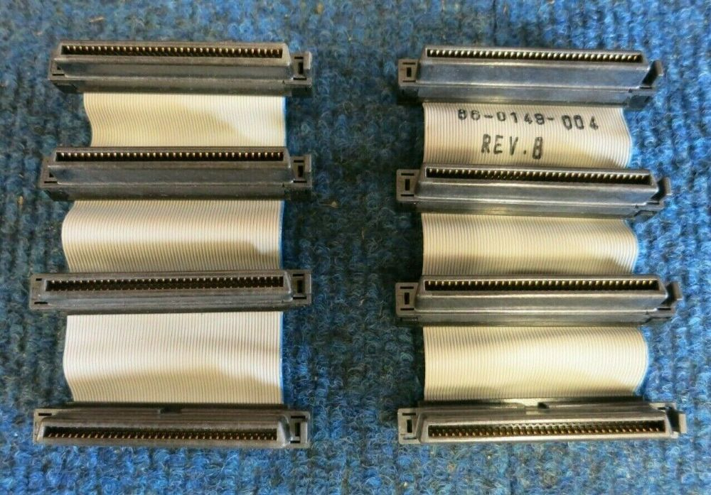 Job Lot 2 x Intel Dialogic 86-0149-004 CT Bus Cable Assembly